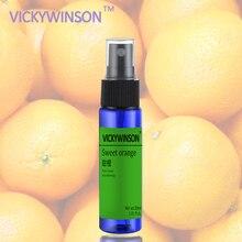 Sweet orange Remover Spray Armpit Underarm Smell Refresh Body Deodorant 30ml