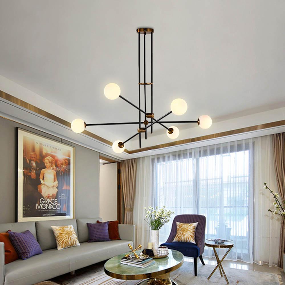 Moderne Nordic Hanglampen hanglampen for a eetkamer Douille G9 LED Lamp Gloeilamp