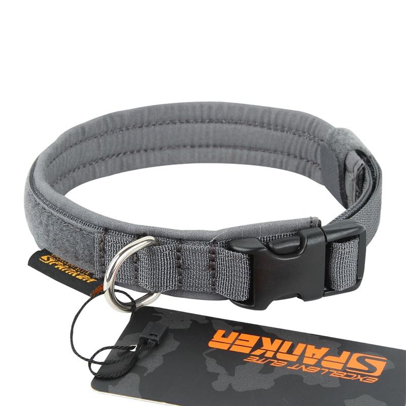 EXCELLENT ELITE SPANKER Tactical Dog Collar Military Training Nylon Adjustable