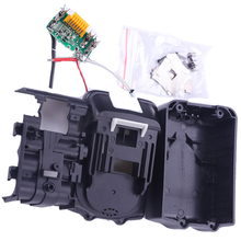 Bl1830 Pcb Circuit Board With Li-Ion Power Tools Battery Case Replacement For Makita 18V Bl1840 Bl1850 Lxt400 Plastic Shell 3pcs new 5000mah power tool battery packs replacement for makita 18v bl1830 spare rechargeable li ion battery 194230 4 lxt400