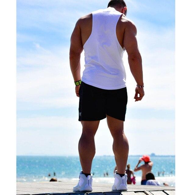 KOSMO MASA 2017 Skull Bodybuilding Fitness Stringer Men Tank Top Golds Gorilla Wear Vest Undershirt Tank Tops MC0117 1