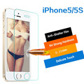 Ultra Thin Only 0.15mm 2.5D Slim Real Premium Tempered Glass Screen Protector Film Guard For Apple iPhone 5 5C 5S SE