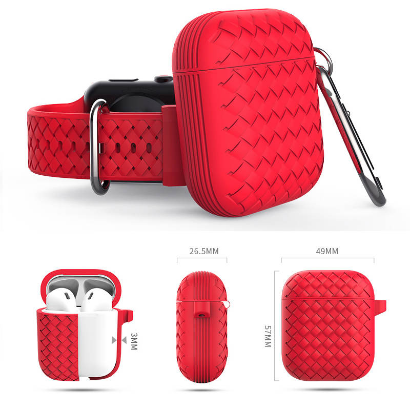 GOOJODOQ For AirPods <font><b>Case</b></font> <font><b>Airpod</b></font> Funda Cover Support Wireless Charing Headphones <font><b>Case</b></font> Bag Soft <font><b>Silicone</b></font> <font><b>Case</b></font> For Air pod 1 2 image