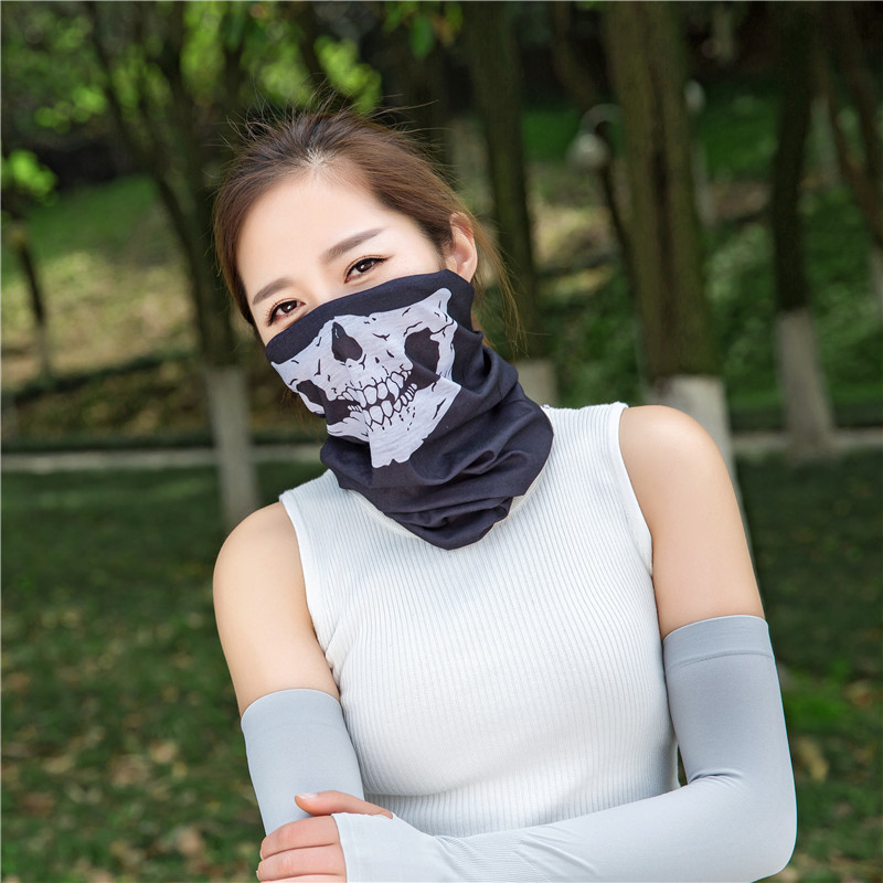 Camouflage Mesh Shemagh Bandanas   Scarves     Wraps   Bandana Headband Hiking   Scarf   Tactical Unisex Turban Multi Use buffe Face Shields