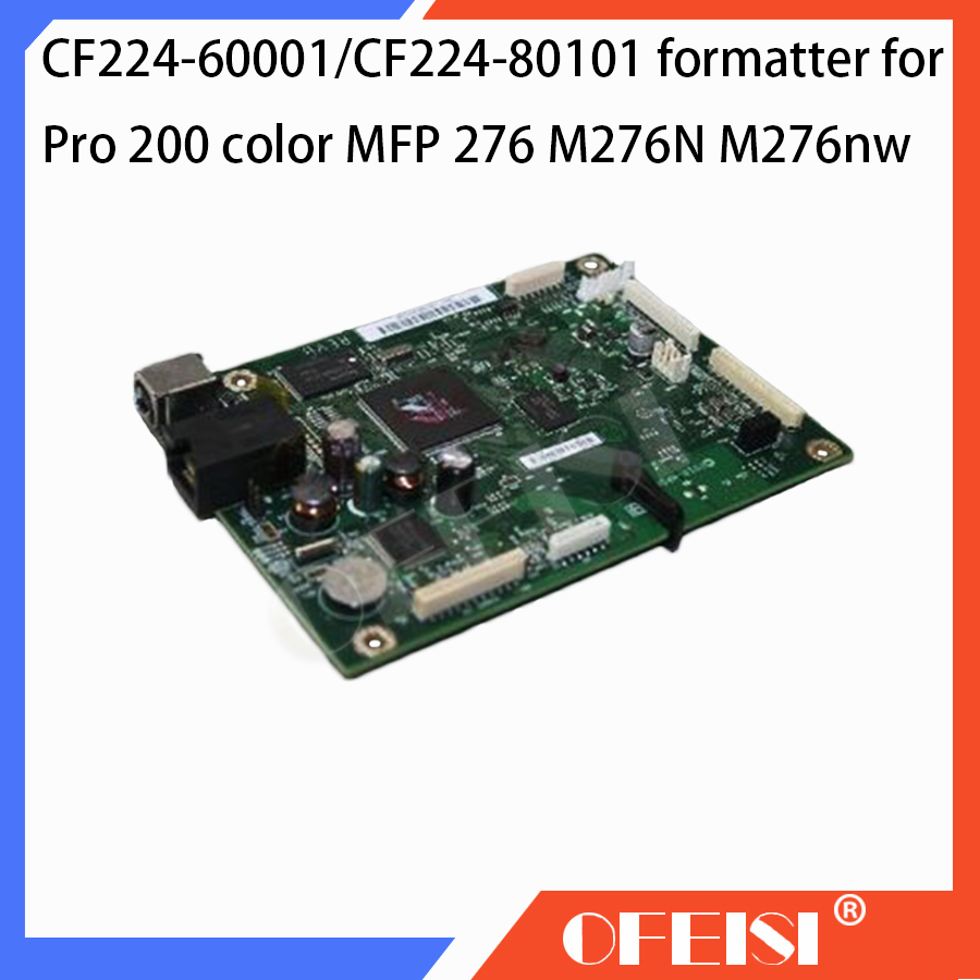Original CF224-60001/CF224-80101 Formatter Board PCA Assy logic Main Board MainBoard mother board for HP M276NW M276 276N Series