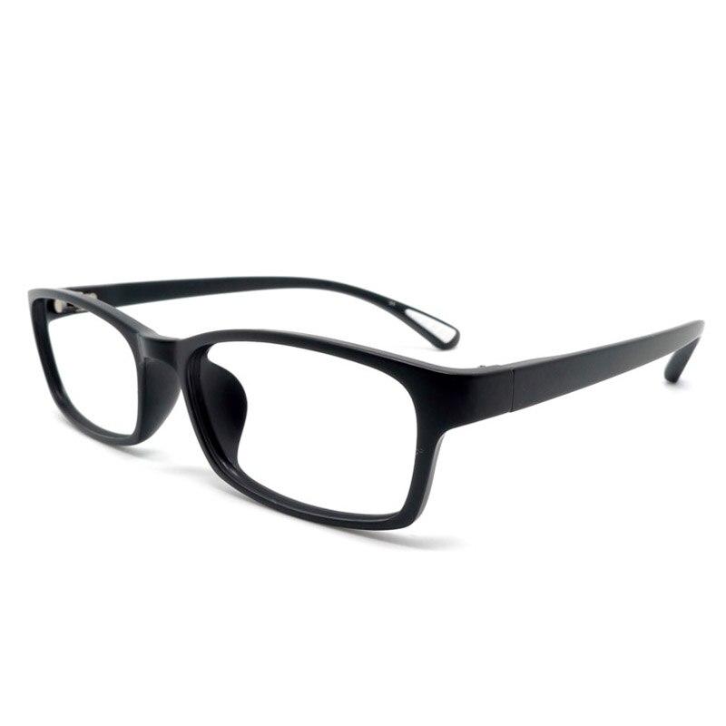 Toptical Ultra-light TR90 Glasses Matte Black Full Frame Flexible Legs Eyewear Frame Slip-resistant Myopia Two Sizes Eyeglasses