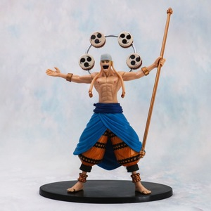 25cm One piece Enel Action Figure Anime Doll PVC New Collection figures toys brinquedos Collection(China)