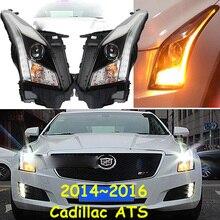 2014 ~ 2016, Auto Styling für Cadilla ATS Scheinwerfer, Cadilla ATS kopf lampe, Cadilla ATS RÜCKLICHT