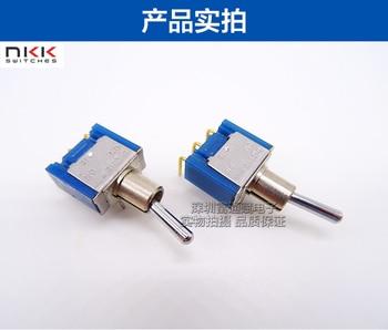 [VK] Japan NKK D2 D-2012H button switch head switch toggle switch 3 feet 2 gear