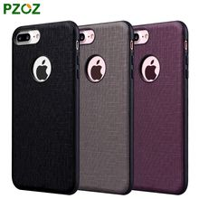 PZOZ For iPhone 7 Hybrid Armor Case Silicone Cover Original Luxury Shockproof Slim Protection Shell For iphone 7 Plus i7 4.7&5.5