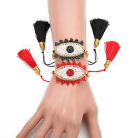 New Fashion Lucky Eye Bracelet MIYUKI Turkish Evil Eye Bracelet Pulsera Delica Beads Party Women Jewelry
