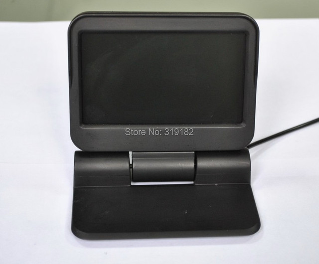 upgrade In dash car monitors 5 inch HD 800*480 2CH AV IN car parking assisstance with remote control motorized monitor