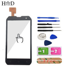 HelloWZXD 4.0'' Mobile Phone For Cat B15 Touch Screen Glass Front Glass Digitizer Panel Lens Sensor Flex Cable Tools Adhesive(China)