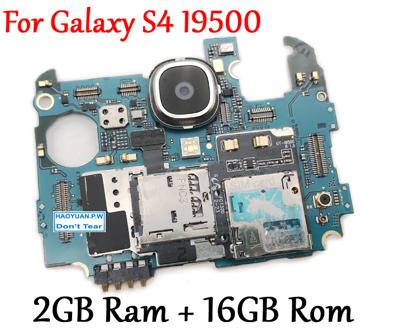 Raofeng high quality For Samsung galaxy S4 Motherboard i9500