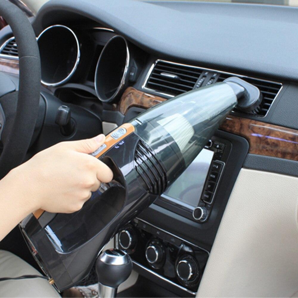 carzkool 4 In 1 Car Vacuum Cleaner CZK-6101 Air Pump Vehicle Vacuum Cleaner Handheld Wet Dry Dual-Use Tire Pressure Measurement