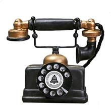 Nuevo regalo promocional creativo Retro modelo de teléfono antiguo ornamento de escritorio artesanal figuras de decoración del hogar regalo específico