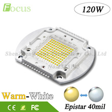1Pcs High Power LED Chip 120W COB White + Warm White 40mil Light Beads 120 Watt 24Pin Use For Photographic Fill-Soft Light
