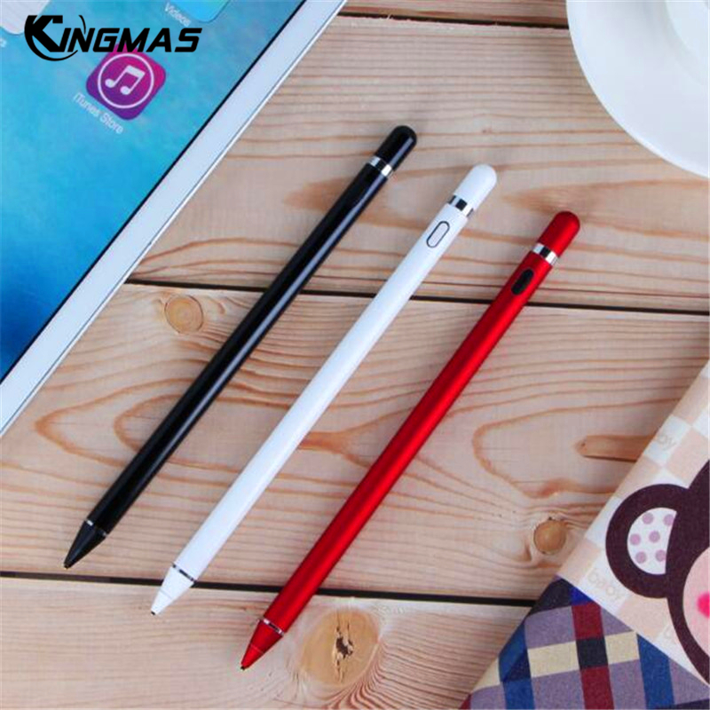 high precision Tablet stylus For Apple Pencil capacitance touch Pen for iPad Pro 2018/1/2/3/4 mini For iPhone XS MAX XR 9.7 inch цены онлайн