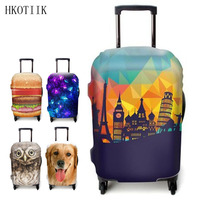 HKOTIIK Brand Suitcase Protective Cover Dustproof Luggage Cover For 18 To 32 Inch Trolley Suitcase Case