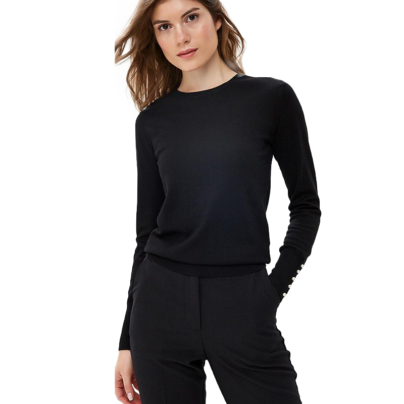 Sweaters MODIS M182W00408 jumper sweater clothes apparel pullover for female for woman TmallFS sweaters jumper befree for female sweater long sleeve women clothes apparel woman turtleneck pullover 1811556860 90 tf