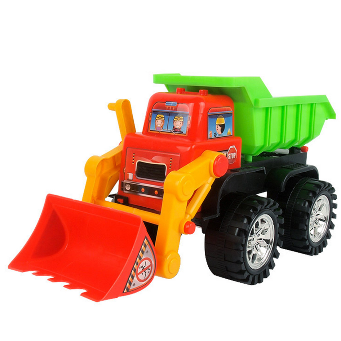 NFSTRIKE Plastic Beach Toy Forklift Children Machineshop Truck Series Simulation Kids Fancy Educational Water Pool Sand Toys