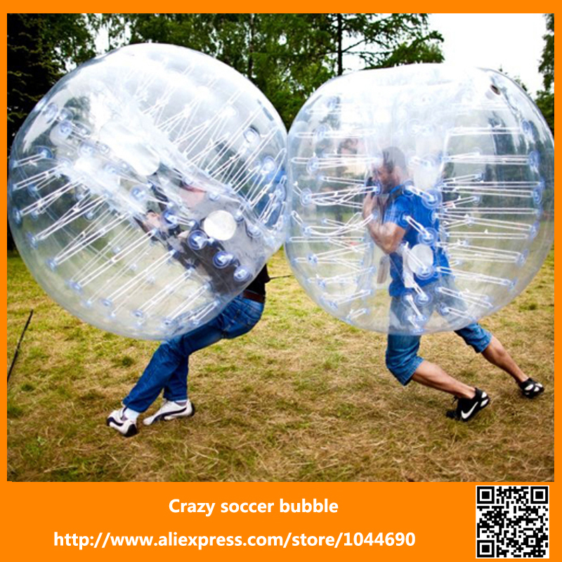 Promotion+free shipping ! ! ! soccer bubble football/ bubble ball for football bumperz bubble football