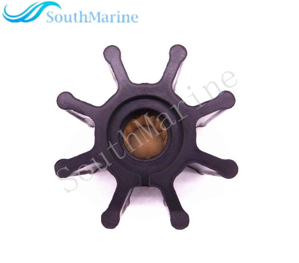 Flexible Impeller 09-1028B 17937-0001 For Jabsco Johnson Inboard Engine Water Pump, 8 Blades