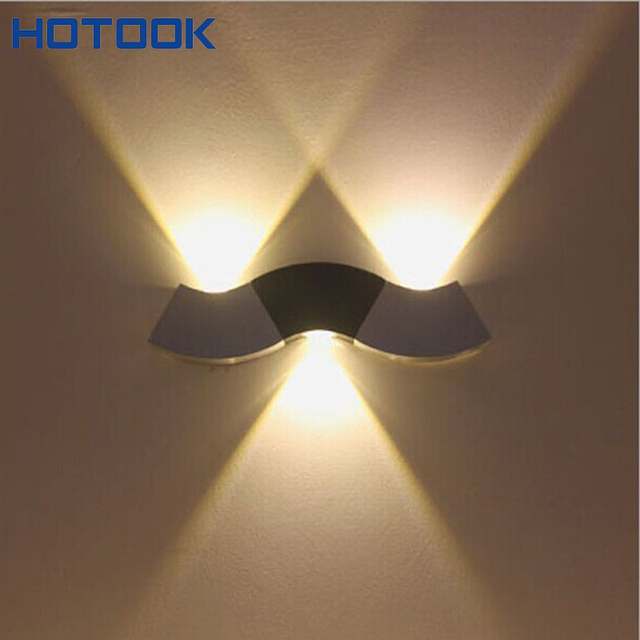 Modern 3W Wall Light Up & Down LED Sconce Lighting Spotlight Toilet ...