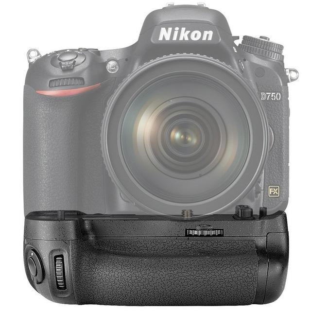 Paquete battery grip neewer reemplazo para nikon mb-d16 compatible con dslr cámara en-el15 batería para nikon d750
