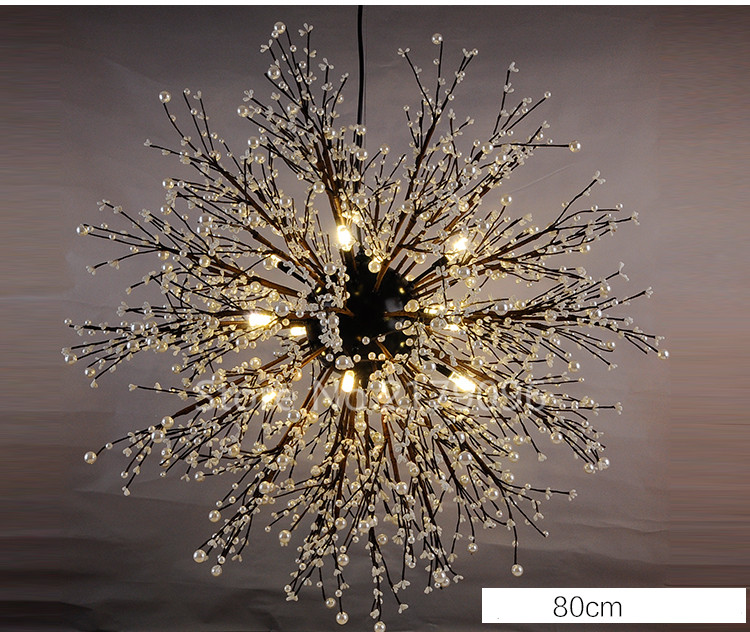 Nordic Creative Personality Style Retro Planet Chandelier Clothing Coffee Bar Clubs Fireworks Spark Lights In Chandeliers From Lighting