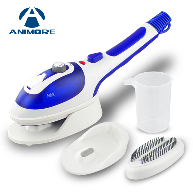 ANIMORE Handheld Garment Steamer Portable Home and Travel Fabric Steamer Fast Heat Up Removable Water Tank Steam Iron GS-01 portable clothes steamer handheld fast