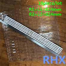 10 peças/lote para substituição de retroiluminação, barra de faixa led lg 42ln6138 42la6208 42la6130 lc420due 100% novo