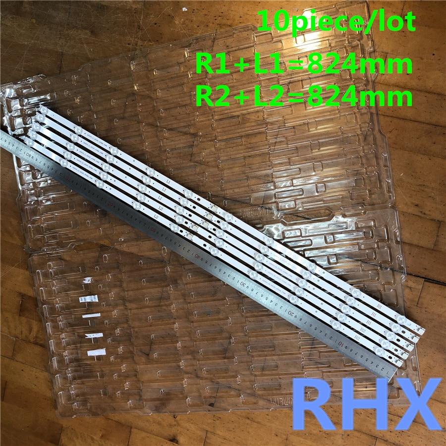 10piece/lot For   Replacement Backlight Array LED Strip Bar LG 42LN6138 42LA6208 42LA6130 LC420DUE  100%new