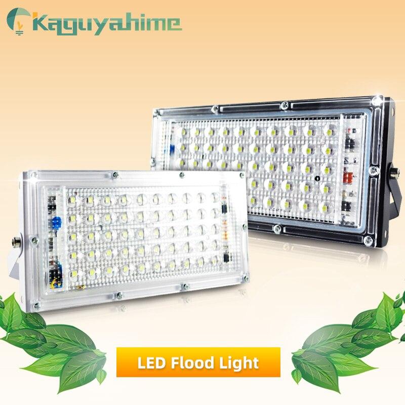Kaguyahime LED Spotlight 50W 220V Floodlight Waterproof IP65 Street Lamp Square LED Reflector Focus Light Outdoor Flood Light