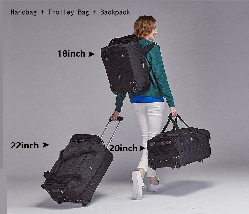 Fashion-18-20-22-inch-Extensible-Backpack-Travel-Bag-Casters-Trolley-Carry-On-Wheels-Women-Waterproof