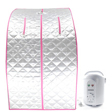 Steam sauna portable room beneficial skin infrared weight loss calorie