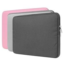 3 Colors Zipper Computer Sleeve Case for Macbook Laptop AIR PRO Retina 11 12 13 14 15 15.4 Inch Notebook Touch Bar 15.6 Bag BTZ1