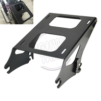 Motorcycle Detachable 2 Up Tour Pak Pack Luggage Rack Mounting Kit Case For Harley Street Glide