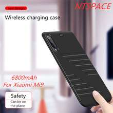 Extenal Battery Charger Cases For Xiaomi Mi 9 Battery Case 6800mAh Fashion Ultra Thin Portable Power Bank Pack Charging Cover