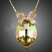 2013 Charming 18k Gold Plated Rhinestone Jewelry Cheap Jewelry Free Shipping Necklace XN030