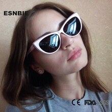 ФОТО esnbie designer small sunglasses women cat glasses fashion women's polarized sun glasses uv400 protection oculos de sol feminino