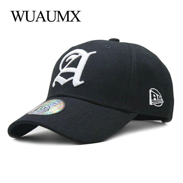 d19b8c447fdf € 7.81 45% de DESCUENTO|Wuaumx gorra de béisbol hombres de algodón  casquillo de las mujeres al aire libre estilo de la calle Hip Hop hueso ...