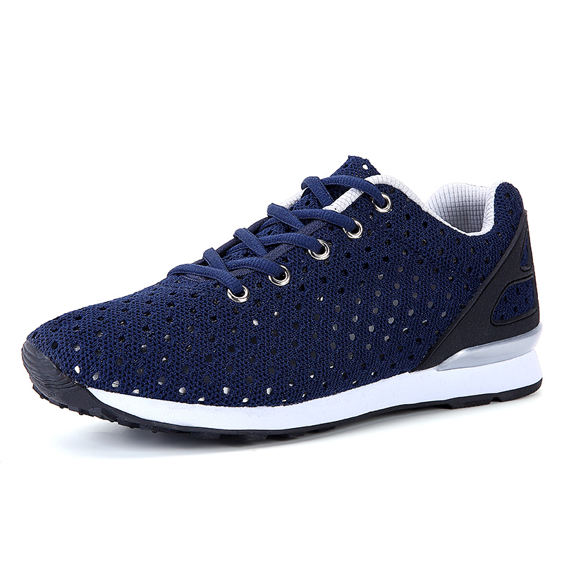 Summer Men's Breathable Mesh Lace up Antislip Sports Running Trainers Shoes Men Outdoor Walking Sneakers Breathable Chaussures 2016 new summer professional men s running shoes breathable mesh outdoor sports sneakers men trainers zapatos hombre 39 44
