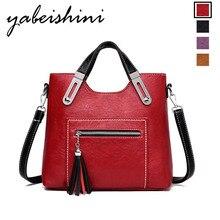 Womens zipper handbag lady striped leather shoulder bag solid color high quality casual luxury brand designer