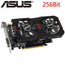 Видеокарта ASUS GTX 760 2GB 256Bit GDDR5 видеокарты для nVIDIA VGA карты Geforce GTX760 прочнее, чем GTX 750 TI GTX650 б/у
