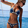 Brand 2017 Bikini Summer Pure Paded Handmade Knitted Crochet Shell Sexy Swimwear Women Swimsuit Bathing Biquini