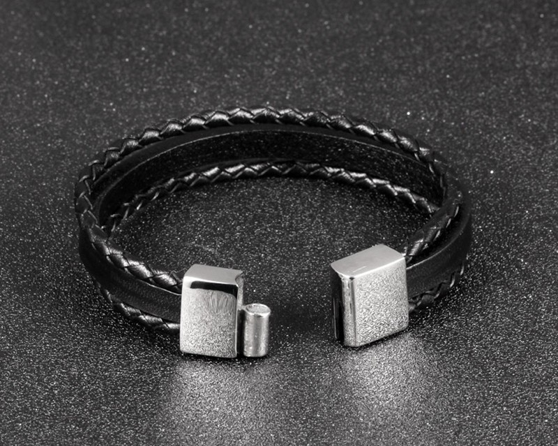 HTB1XZJlKFXXXXcRaXXXq6xXFXXXk - Casual Braided and Smooth Leather Style Bracelet
