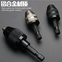 Electric Grinder Universal Chuck Three Jaw Drill Chuck HEX SHANK Electric Mill Accessories Electric Drill Flexible