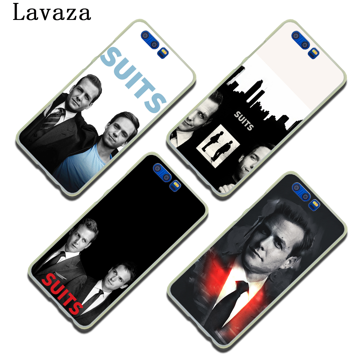 Lavaza Suits TV Show Hard Phone Case for Huawei Y6 Y5 Y3 II Y7 2017 Nova 2 Plus 2S 2i & Honor 9 8 Lite 7 7X 6 6A 6X Cover