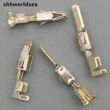 Shhworldsea 30 комплектов Мужской и Женский обжимной терминал разъемы для автомобиля, автомобильные клеммы для VW, 16-22 AWG